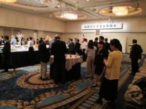 福岡カナダ協会 05 IMG_1229懇親会の様子